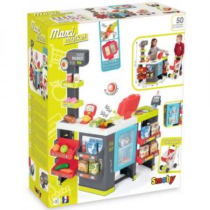 Magazin pentru copii Smoby Maxi Market cu accesorii13