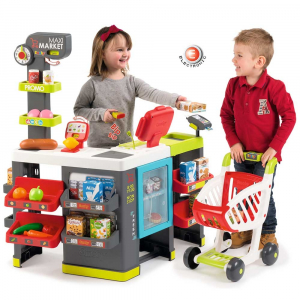 Magazin pentru copii Smoby Maxi Market cu accesorii6