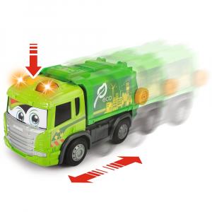 Masina de gunoi Dickie Toys Happy Scania Truck4
