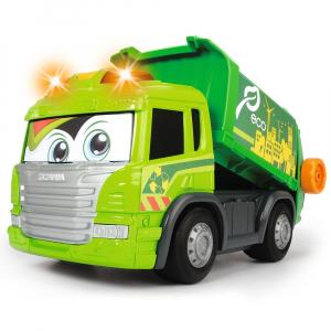 Masina de gunoi Dickie Toys Happy Scania Truck1