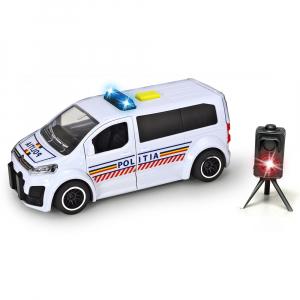 Masina de politie Dickie Toys Citroen SpaceTourer cu radar de viteza [0]