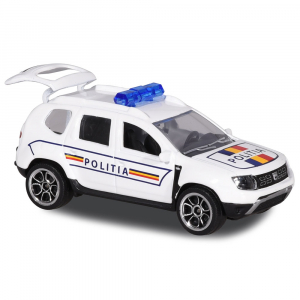 Masina de politie Majorette Dacia Duster0