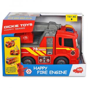 Masina de pompieri Dickie Toys Happy Scania Fire Truck7