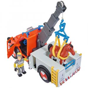 Masina de pompieri Simba Fireman Sam Phoenix cu figurina, cal si accesorii [4]