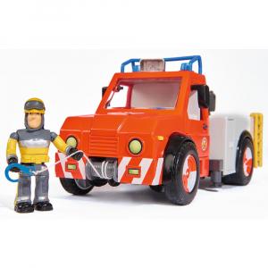 Masina de pompieri Simba Fireman Sam Phoenix cu figurina, cal si accesorii [3]