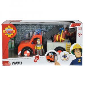 Masina de pompieri Simba Fireman Sam Phoenix cu figurina, cal si accesorii [8]
