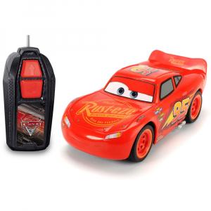 Masina Dickie Toys Cars 3 Single-Drive Lightning McQueen cu telecomanda [0]