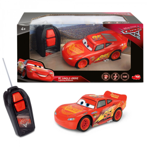 Masina Dickie Toys Cars 3 Single-Drive Lightning McQueen cu telecomanda [2]