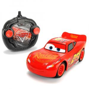 Masina Dickie Toys Cars 3 Turbo Racer Lightning McQueen cu telecomanda [0]