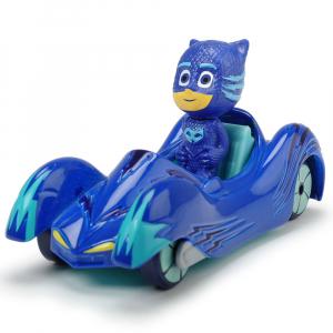 Masina Dickie Toys Eroi in Pijama Cat-Car cu figurina0