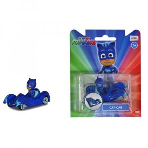 Masina Dickie Toys Eroi in Pijama Cat-Car cu figurina2