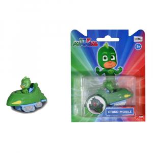 Masina Dickie Toys Eroi in Pijama Gekko-Mobile cu figurina2