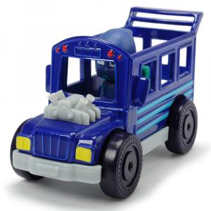 Masina Dickie Toys Eroi in Pijama Night Ninja Bus cu figurina [0]