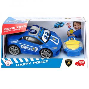 Masina Dickie Toys Happy Police Lamborghini Huracan cu telecomanda13
