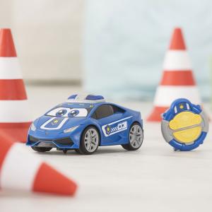Masina Dickie Toys Happy Police Lamborghini Huracan cu telecomanda12