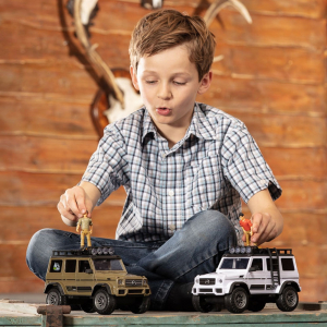 Masina Dickie Toys Playlife Adventure Set cu figurina si accesorii6