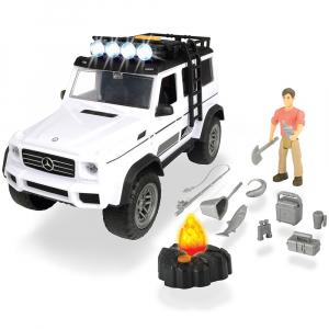 Masina Dickie Toys Playlife Adventure Set cu figurina si accesorii0