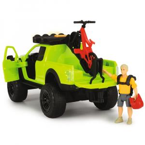 Masina Dickie Toys Playlife Bike Trail Set cu figurina si accesorii [3]
