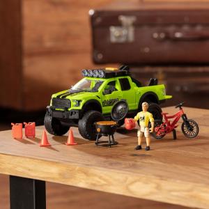 Masina Dickie Toys Playlife Bike Trail Set cu figurina si accesorii [7]
