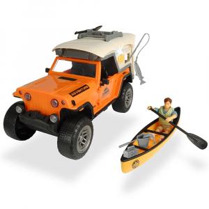 Masina Dickie Toys Playlife Camping Set cu figurina si accesorii [0]