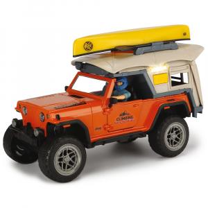Masina Dickie Toys Playlife Camping Set cu figurina si accesorii [1]