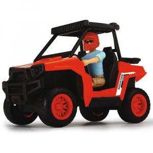 Masina Dickie Toys Playlife Park Ranger cu figurina si accesorii3