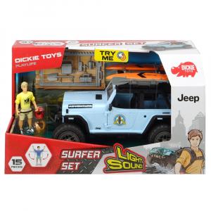 Masina Dickie Toys Playlife Surfer Set cu figurina si accesorii [8]