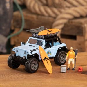 Masina Dickie Toys Playlife Surfer Set cu figurina si accesorii [6]