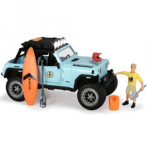 Masina Dickie Toys Playlife Surfer Set cu figurina si accesorii [3]
