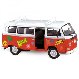 Masina Dickie Toys Volkswagen Surfer Van cu accesorii5
