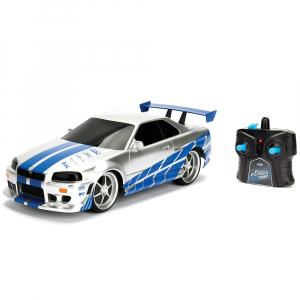 Masina Jada Toys Fast and Furious Nissan Skyline GTR cu telecomanda [0]