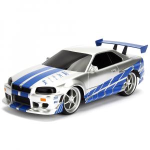 Masina Jada Toys Fast and Furious Nissan Skyline GTR cu telecomanda [2]