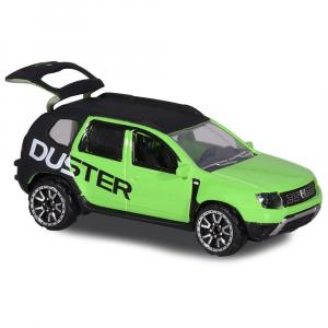 Masina Majorette Dacia Duster negru cu verde [0]