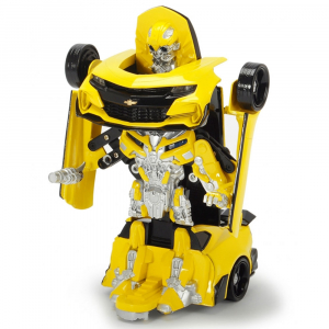 Masina robot transformabil Dickie Toys Bumblebee Transformers Robot Fighter1