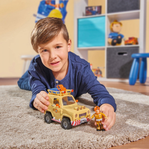 Masina Simba Fireman Sam Tom's 4x4 cu 1 figurina si accesorii [6]