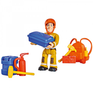Masina Simba Fireman Sam Tom's 4x4 cu 1 figurina si accesorii [5]