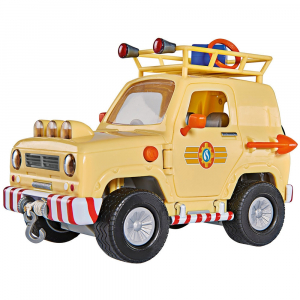 Masina Simba Fireman Sam Tom's 4x4 cu 1 figurina si accesorii [2]