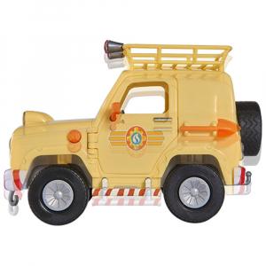 Masina Simba Fireman Sam Tom's 4x4 cu 1 figurina si accesorii [4]