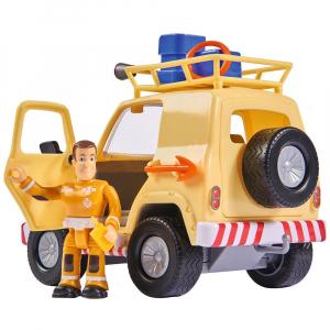 Masina Simba Fireman Sam Tom's 4x4 cu 1 figurina si accesorii [1]