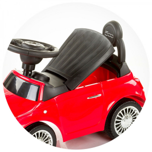 Masinuta Chipolino Fiat 500 red [4]