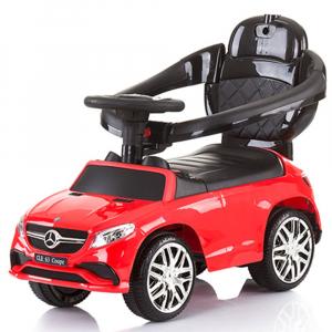 Masinuta de impins Chipolino Mercedes AMG GLE 63 Coupe red cu maner si copertina [2]