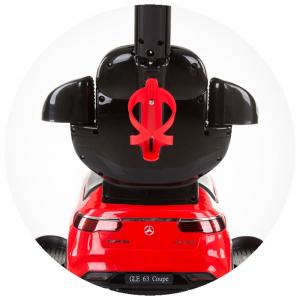 Masinuta de impins Chipolino Mercedes AMG GLE 63 Coupe red cu maner si copertina [7]