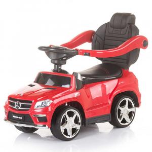 Masinuta de impins cu copertina Chipolino Mercedes Benz GL63 AMG red3