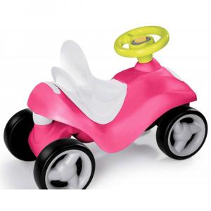 Masinuta de impins Smoby Bubble Go 2 in 1 pink4