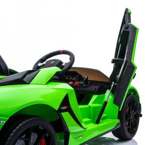 Masinuta electrica Chipolino Lamborghini Aventador SVJ green16