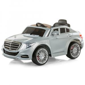 Masinuta electrica Chipolino Mercedes Benz S Class silver [0]