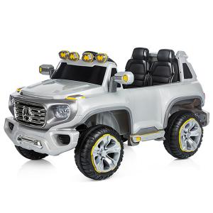Masinuta electrica Chipolino SUV Mercedes Benz G Force silver [2]