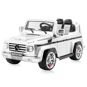 Masinuta electrica Chipolino SUV Mercedes Benz G55 white [1]