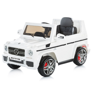 Masinuta electrica Chipolino SUV Mercedes Benz G65 AMG white [4]