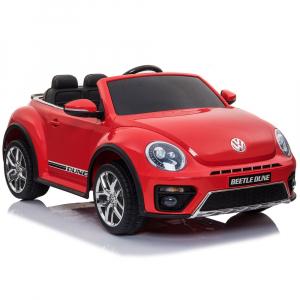 Masinuta electrica Chipolino Volkswagen Beetle Dune red6